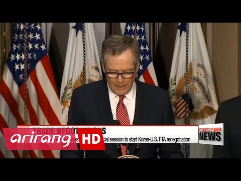 U.S. trade representatives requests special session on KORUS free trade agreement