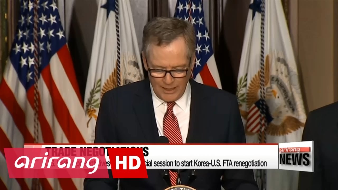 Us Trade Representatives Requests Special Session On Korus Free