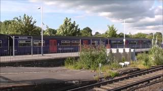 Trains at Basingstoke 5th June 2014 (inc. Network Rail 31105)