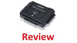 Inateck UA2001 Hard drive to USB converter Review