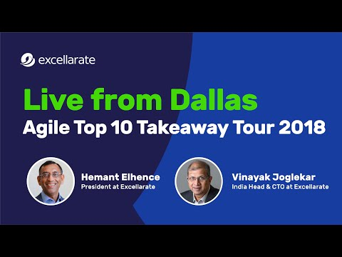 Live from Dallas | Agile Top 10 Takeaway Tour 2018