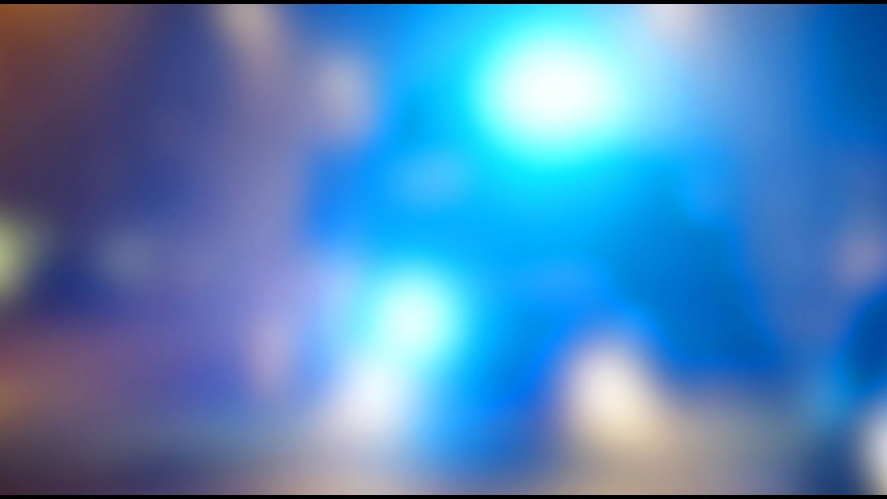 Blurred Emergency Blue Flashing lights - Free Stock Video ...