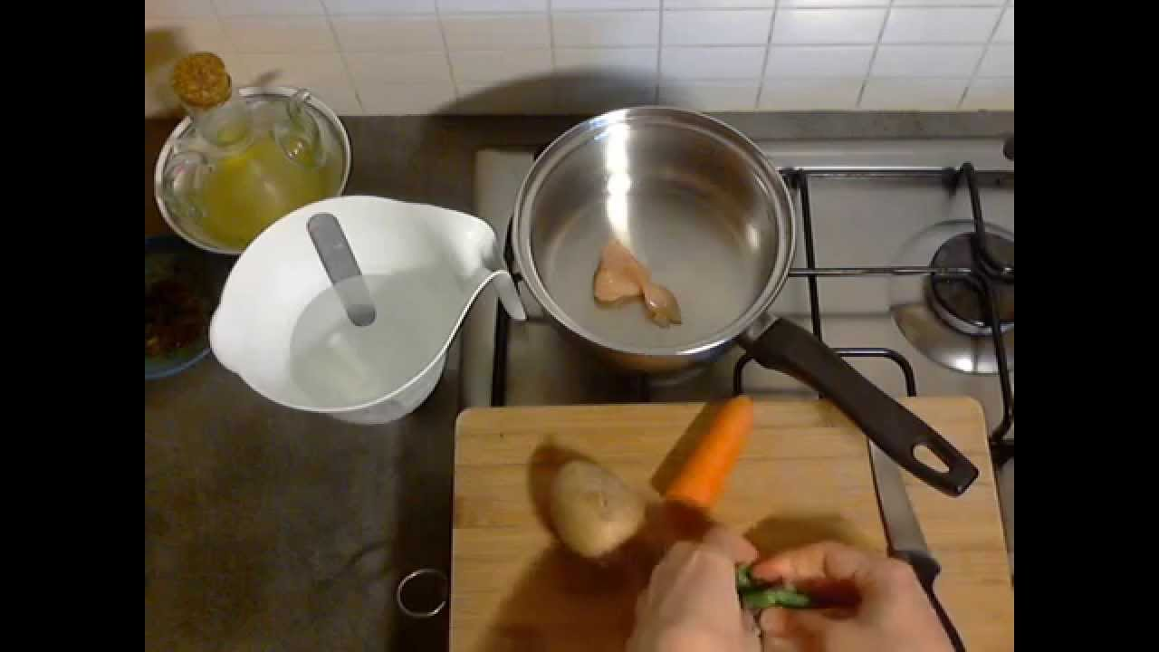 Homemade Baby Food Puree From 5 Months Video Recipe Youtube