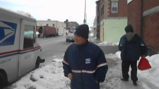 02/19/14:  Gang-stalked by U.S. Postal Service workers