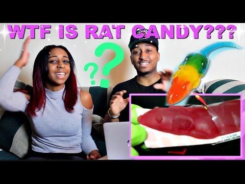 CRINGE ALERT!! Jelly Belly Pet Rat Gummi Candy By Runforthecube Reaction!!!