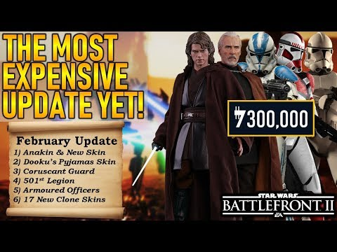 THE MOST EXPENSIVE UPDATE YET! Star Wars Battlefront 2 thumbnail