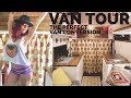 Vanlife Van Tour | The Perfectly Designed Tiny Home on Wheels