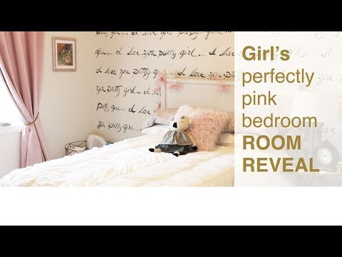 Client Testimonial: Big Girl Bedroom Makeover Reveal, Room Tour