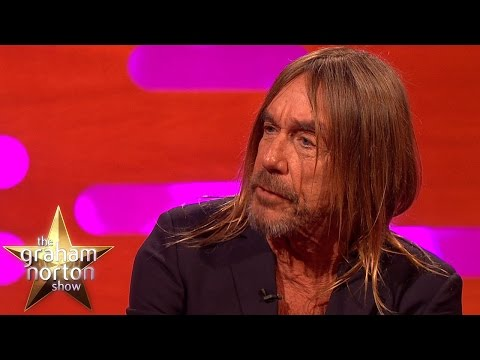 Iggy Pop Is A Real Chair Enthusiast - The Graham Norton Show