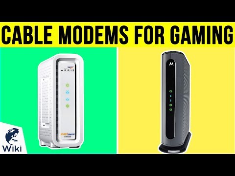 6 Best Cable Modems For Gaming 2019