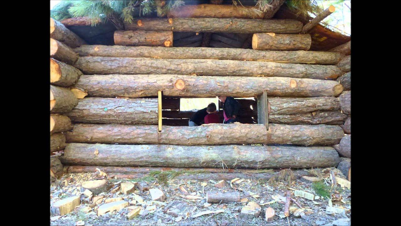 Kids Rustic Log Cabin Youtube