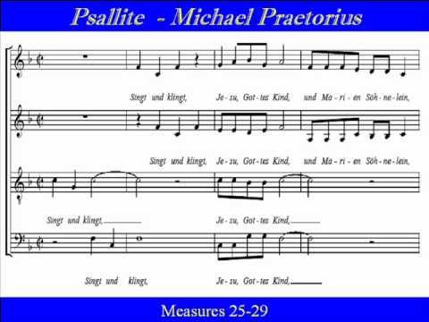 Psallite-Praetorius-Alto-Singt Und Klingt.wmv