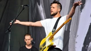 White Lies - There Goes Our Love Again at Reading Festival 2013
