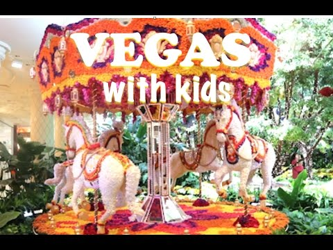 Top 3 Things To Do in Vegas With KIDS!
