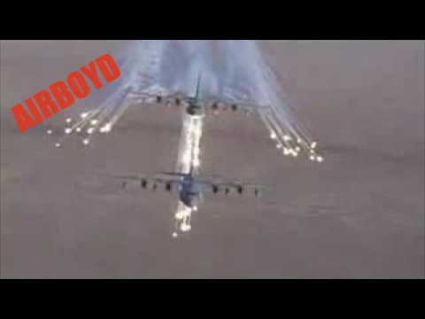 two c 130 angel wing flares youtube