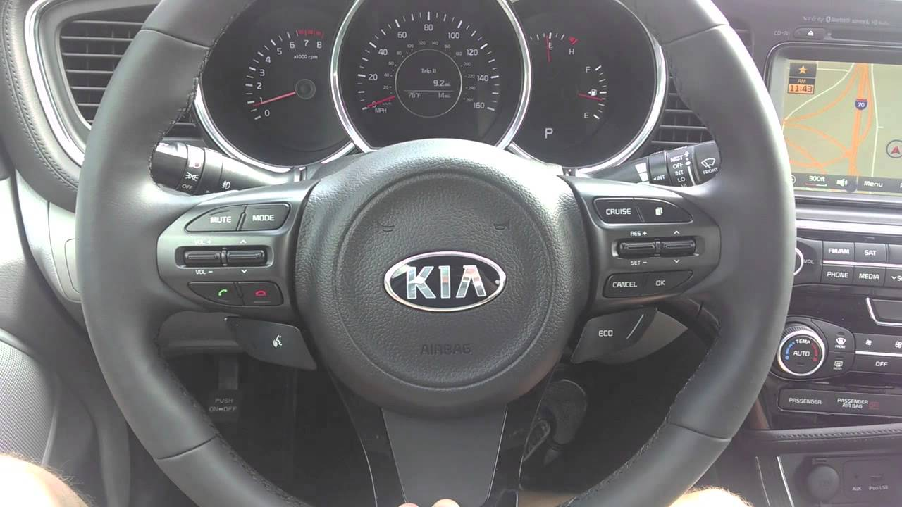 2014 Kia Optima Steering Wheel Youtube