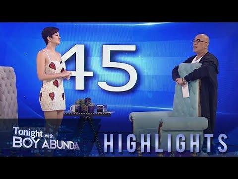 TWBA: Sue Ramirez takes on TWBA's 5 in 45