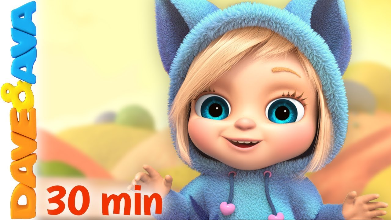 Baby Videos | Cartoon | Nursery Rhymes by Dave and Ava ...
