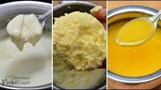 Homemade Ghee Recipe Butter Recipe Pure Ghee Recipe