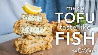 Vegan 'Flaky' Fish & Chips #ad