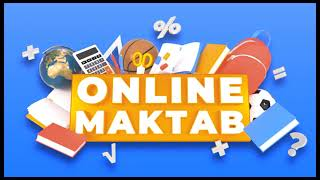 9-sinf. 30.09.21 Online maktab HD (Informatika, Algebra, Rus tili, Kimyo, Geometriya)