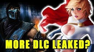 INJUSTICE DLC LEAK #2?! (Sub Zero, Martian Manhunter, Power Girl, Red Hood)