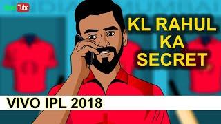 Vivo ipl 2018 - KL Rahul Ka Secret
