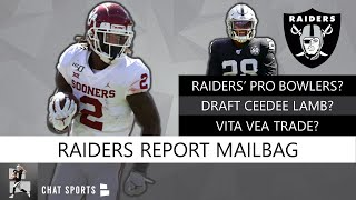 Raiders Rumors: Oakland's 2019 Pro Bowlers, Vita Vea Trade, Ceedee Lamb 2020 NFL Draft | Q&A
