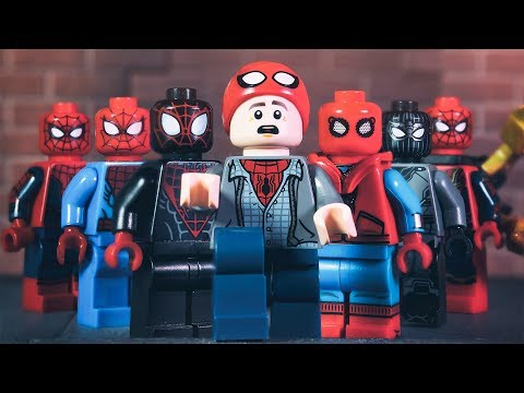 LEGO Building Amazing Spider Man's suit by IRON MAN Final Ep