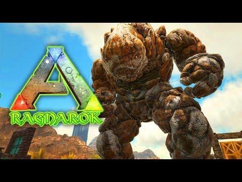 Giant Rock Elemental - ARK: RAGNAROK SURVIVAL (DLC)(EP.17)