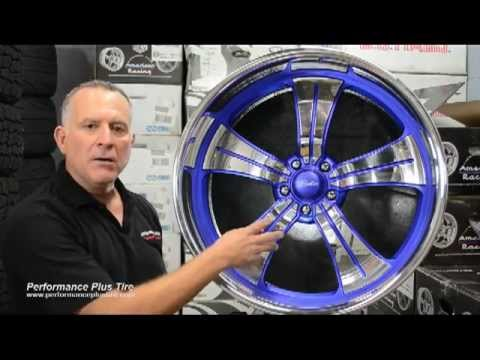 Raceline Static 5 Blue Rim with Polished Finish - Performance Plus Wheel & Tire Review