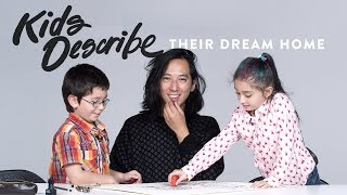 Kids Describe Dream Home to Koji the Illustrator | Kids Describe | HiHo Kids