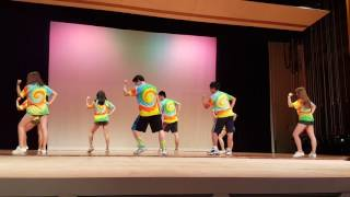 Little Apple @Chinese students at 2016 COE Culture Show