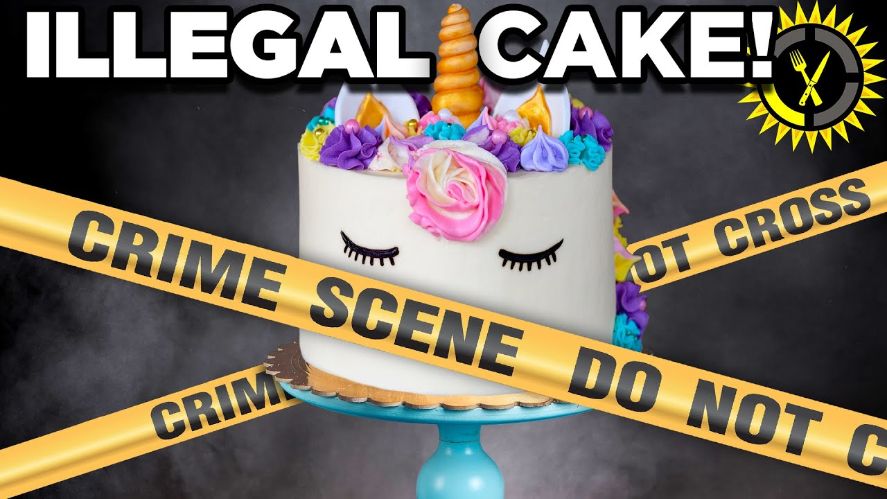 Food Theory: Is Your Cake ILLEGAL?