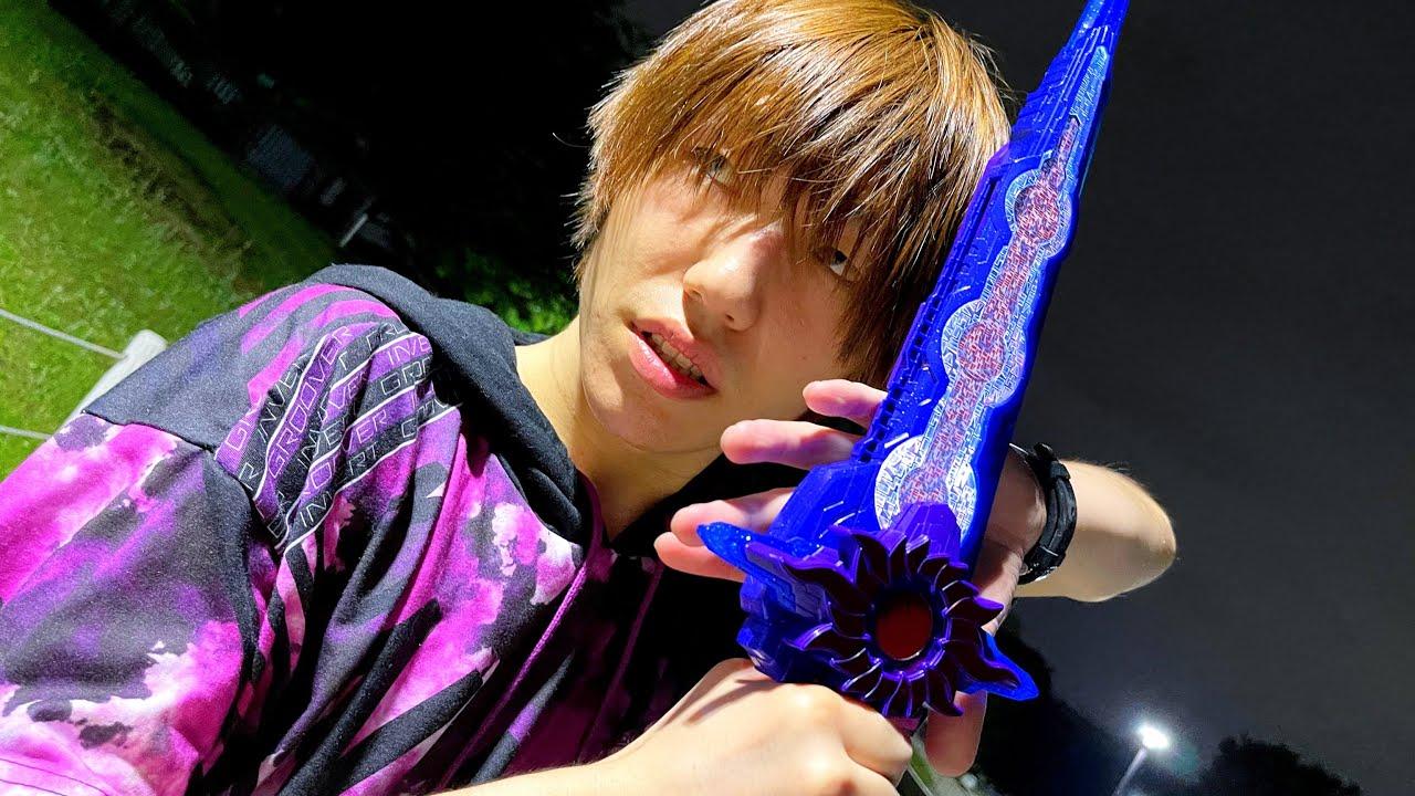 【発売日】仮面ライダークロスセイバーに変身してみた!(DX刃王剣クロスセイバー)