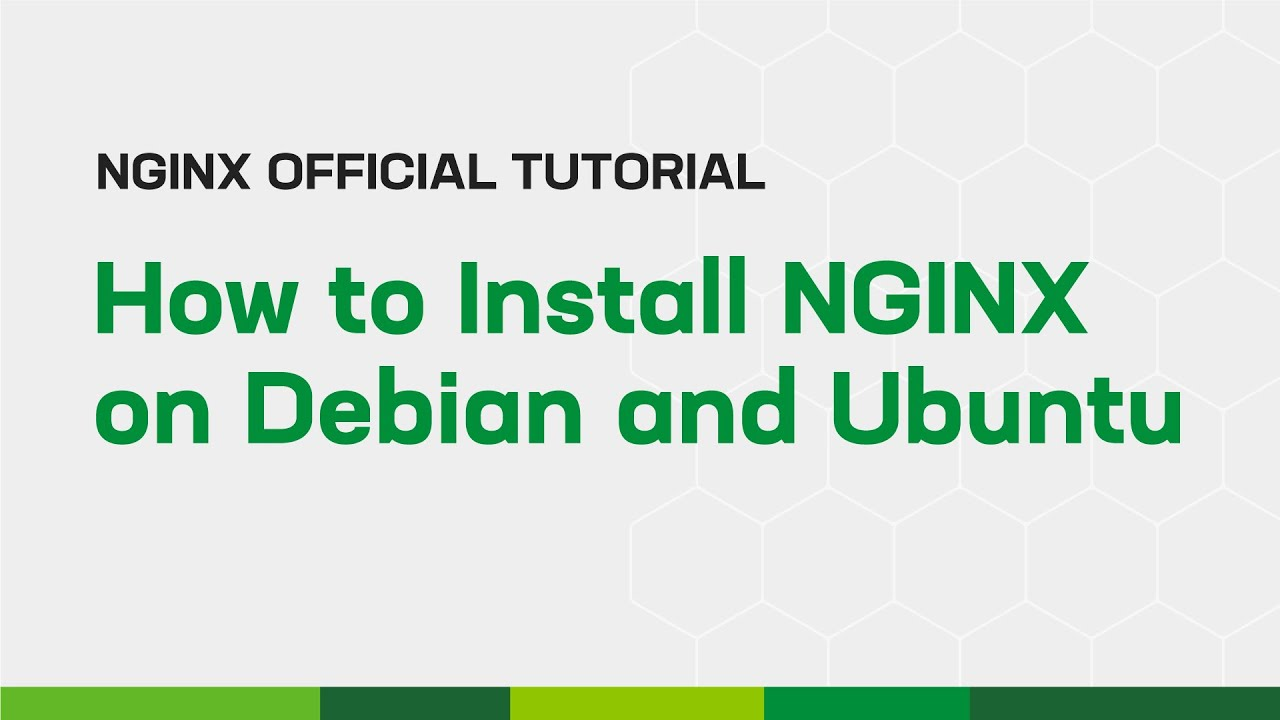 install nginx latest version debian