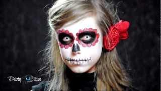 Białe soczewki kolorowe PartyEye CRAZY / The Walking Dead White Color Contact Lenses
