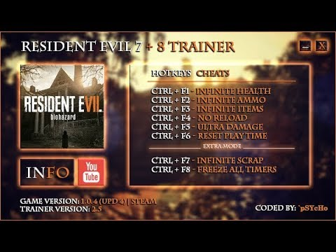 HOW TO HACK RESIDENT EVIL 7 2018!!!