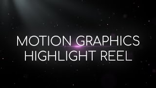 Motion Graphics Reel - Ben Larson Media