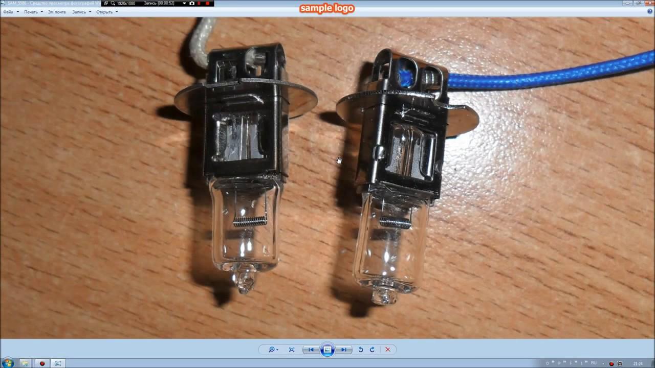 LED лампа Н3 с Алиэкспресс - YouTube