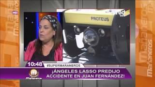 Las increíbles predicciones de María Ángeles Lasso