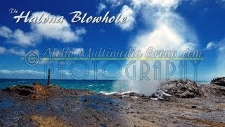 Halona Blowhole Up Close Low Angle Clip 3
