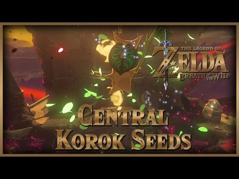 Zelda Breath of the Wild • Korok Seeds • Central • Hyrule Castle