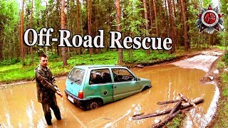 Very Small Car Stuck In Very Big Forest 2019