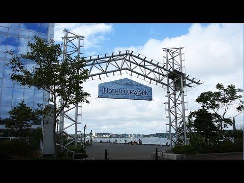 Halifax Waterfront - Harbour Walk - Nova Scotia