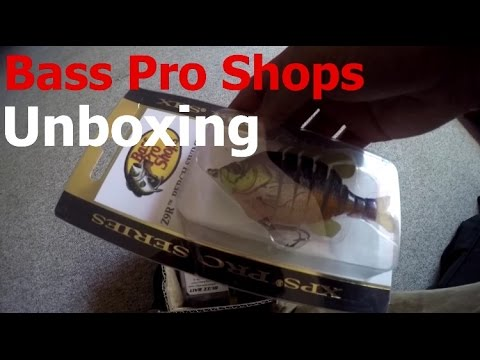 Bass pro shops unboxing fishing lures youtube for Bass pro shop fishing lures