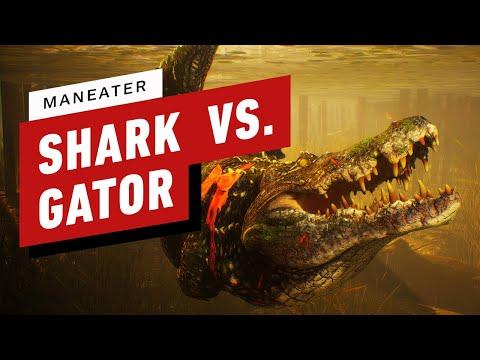 Maneater - Baby Shark vs. Alligator Gameplay