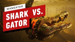 Maneater - Baby Shark vs. Alligator Gameplay