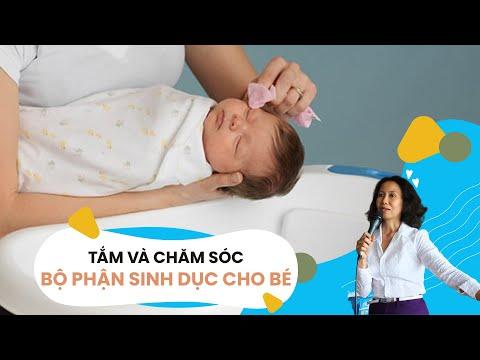 Tắm và Vệ sinh bộ phận sinh dục cho bé - Lớp tiền sản hậu sản II Webtretho