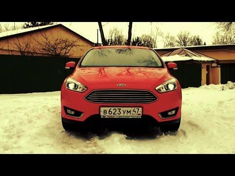 CityTEST. Тест-драйв Форд Фокус 2016. New Ford Focus.
